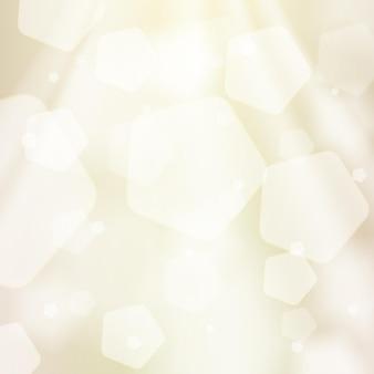 Streszczenie beżowe tło. światło słoneczne, bokeh, błyszczące i błyszczące tło. element graficzny dla stron internetowych, broszur, ulotek. ilustracja wektorowa.