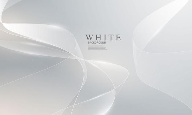 Streszczenie białe tło plakat z dynamicznym. technologia sieci ilustracja wektorowa.