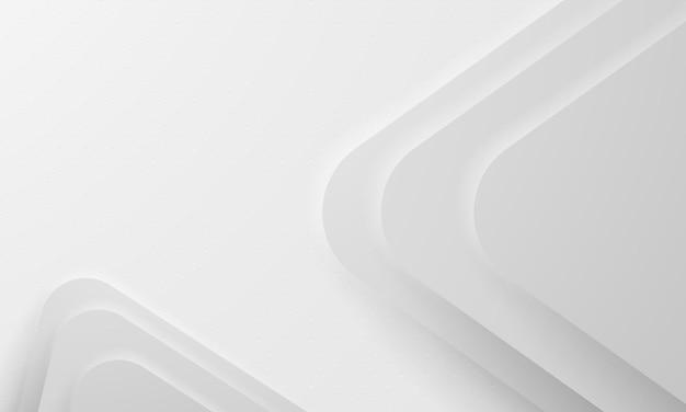 Streszczenie białe tło z dynamicznymi kształtami