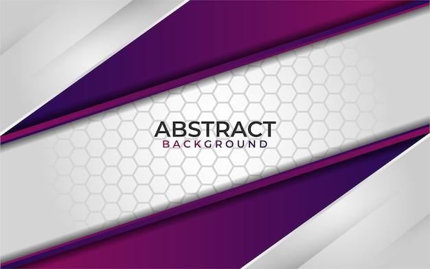 Streszczenie białe tło z kolorowym fioletowym gradientem