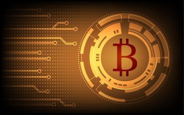Streszczenie bitcoin technology background