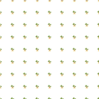 Streszczenie botanika tropikalny wzór z zielonej małej palmy i sylwetki wyspy. na białym tle tło. przeznaczony do projektowania tkanin, nadruków na tekstyliach, zawijania, okładek. ilustracja wektorowa.