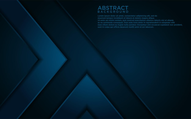 Streszczenie ciemnoniebieskie linie i projekt tła kształtu