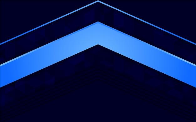 Streszczenie ciemnoniebieskie tło z teksturą trójkąta