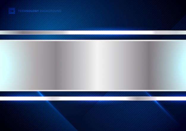 Streszczenie cyfrowe niebieskie paski linie po przekątnej