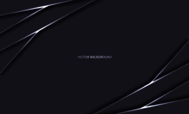 Streszczenie czarne luksusowe nowoczesne tło z cieniami i lekkimi liniami.