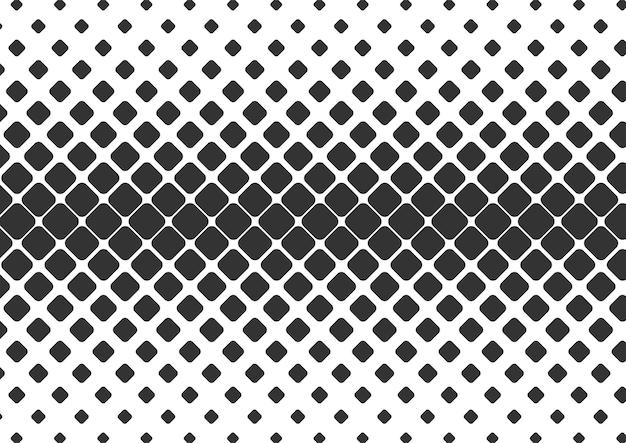 Streszczenie czarno-białe kropki półtonów tła, projekt tła półtonów