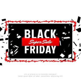Streszczenie czarny piątek sprzedaż tło reklamy