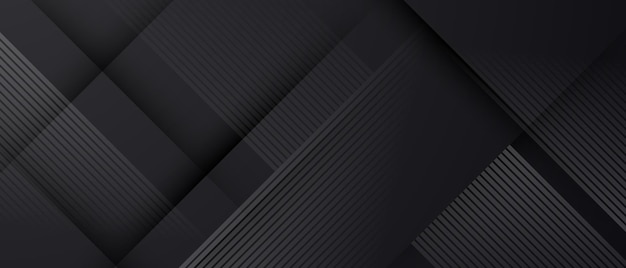 Streszczenie czarny wzór i dynamiczne tło plakat. ilustracja w formacie wektorowym.