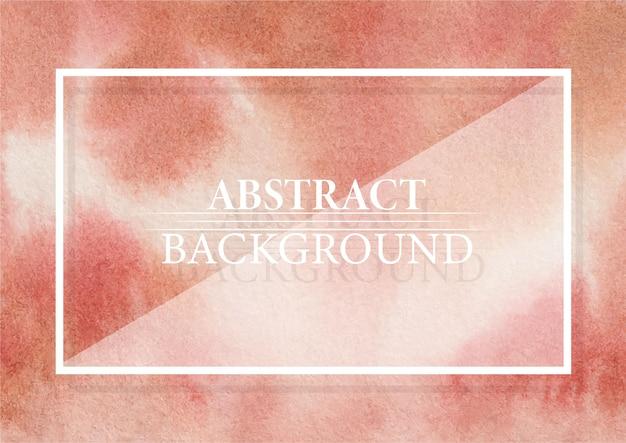 Streszczenie czerwone jezioro i spalona siena kolor nowoczesny elegancki wzór tła