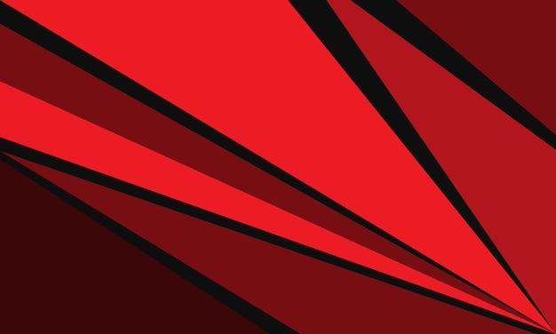 Streszczenie czerwony czarny trójkąt prędkość geometryczna nowoczesne futurystyczne tło