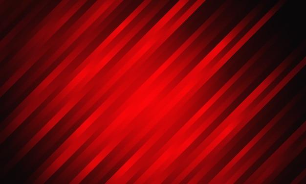 Streszczenie czerwony wzór linii prędkości projektowania nowoczesnej futurystycznej technologii tło.