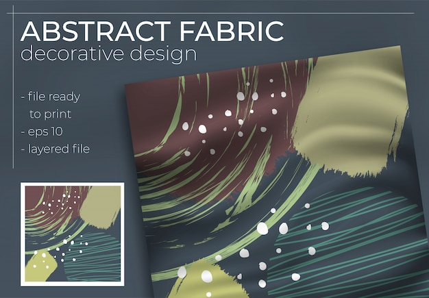 Streszczenie dekoracyjny wzór tkaniny