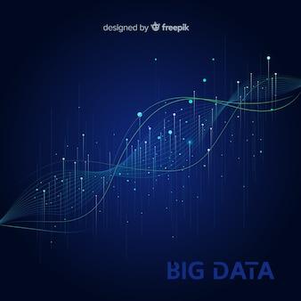 Streszczenie duże tło danych