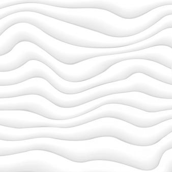 Streszczenie dynamiczne białe fale tło