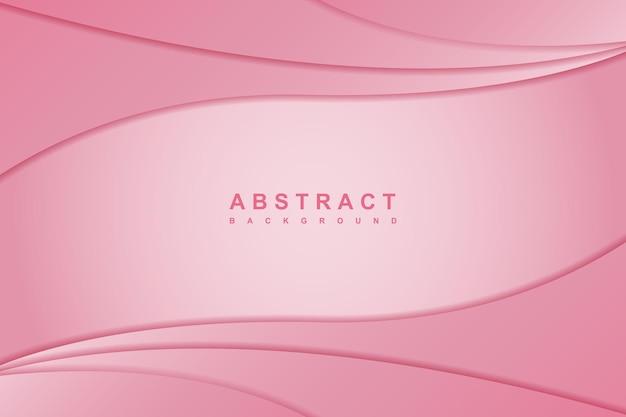 Streszczenie elegancki różowy wzór tła fali
