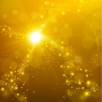 Streszczenie elegancki złoty połysk tło