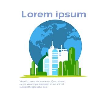 Streszczenie fabryka środowiska produkcyjnego ekologia infographic
