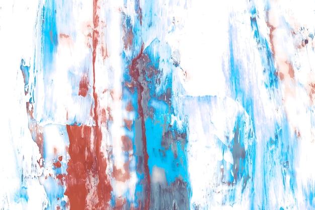 Streszczenie farby na płótnie