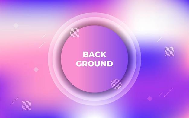 Streszczenie fioletowe koło tło futurystyczny projekt graficzny.