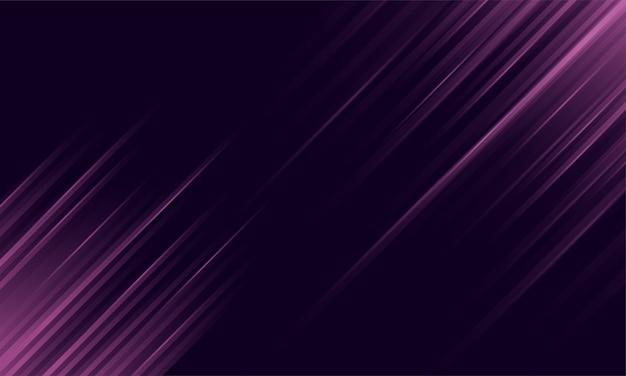 Streszczenie fioletowe tło z ukośnymi liniami światła