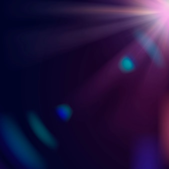 Streszczenie fioletowy flary obiektywu wektor ramki granicznej