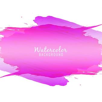 Streszczenie fioletowy kolor akwarela plama tle