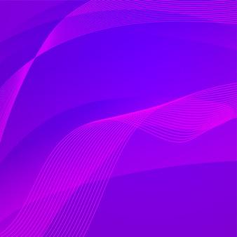 Streszczenie fioletowym tle z falami.