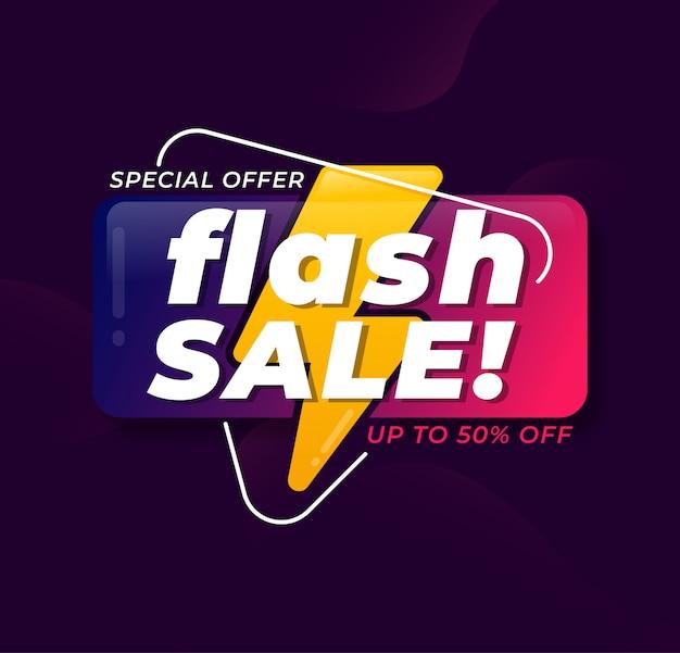 Streszczenie flash promocji promocji sprzedaży