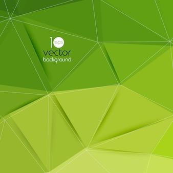 Streszczenie geometryczne zielone tło