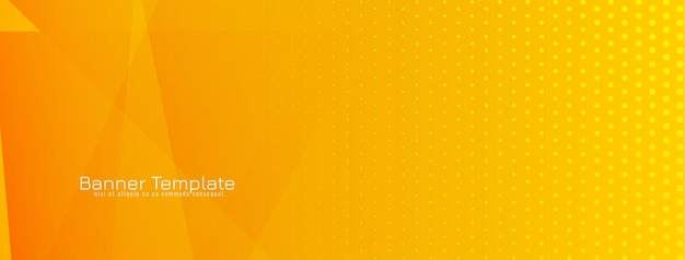 Streszczenie geometryczny transparent pomarańczowy i żółty