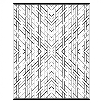 Streszczenie geometryczny wzór bez szwu