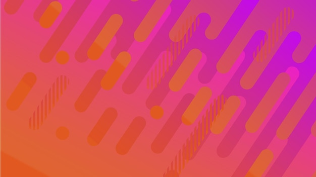 Streszczenie geometryczny wzór linii tła dla biznesu broszura projekt okładki niebieski różowy wektor banne...