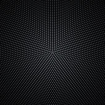 Streszczenie geometryczny wzór rundy półtonów koło tło