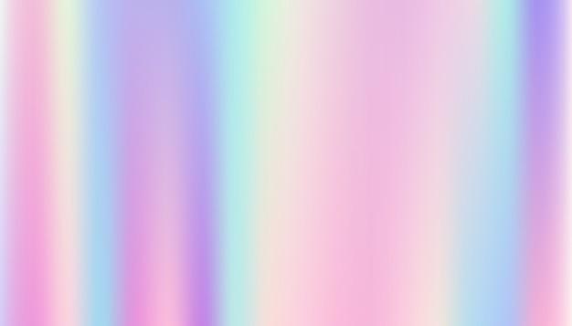 Streszczenie gładkie i holograficzne tło.
