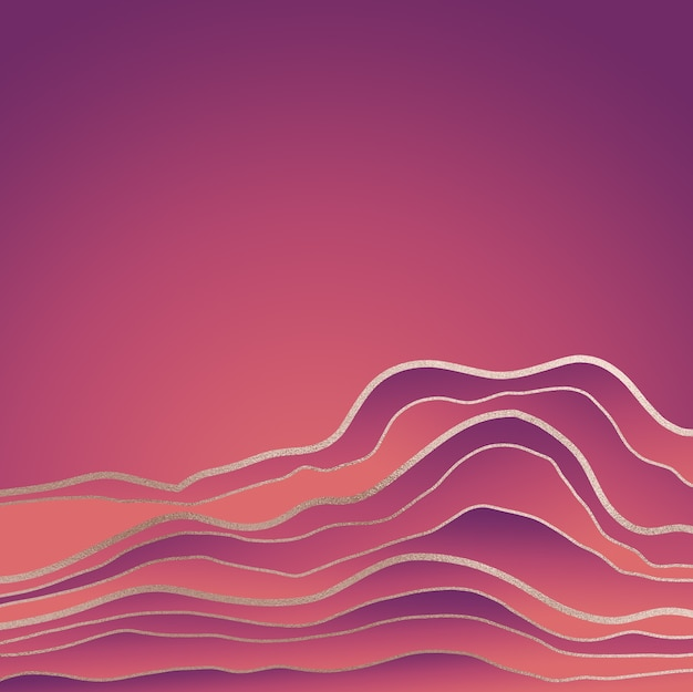 Streszczenie gradientowe tło