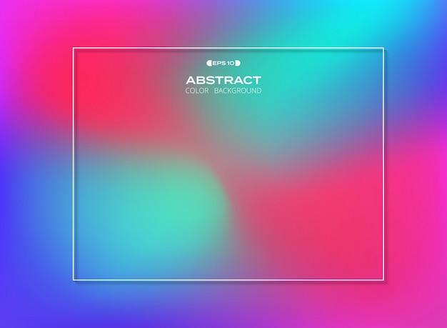 Streszczenie gradientu kolorowe tło,