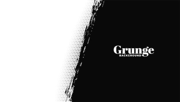 Streszczenie grunge czarno-białe tło