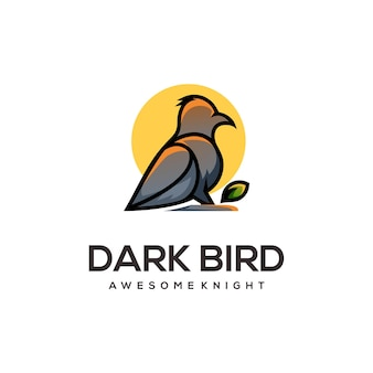 Streszczenie ilustracji logo ptaka