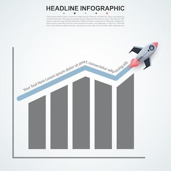 Streszczenie infografiki liczba opcji szablonu.