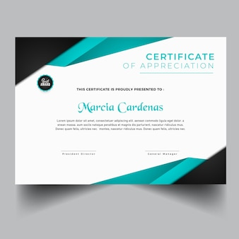 Streszczenie, inteligentny projekt certyfikatu nowego projektu