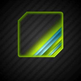 Streszczenie jasne logo projekt. tło wektor