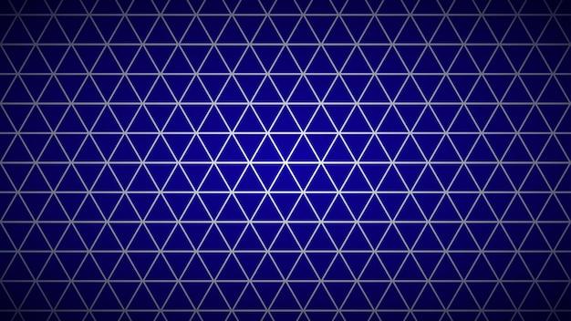 Streszczenie jasne tło małych trójkątów w kolorach niebieskim.