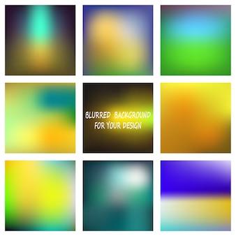 Streszczenie kolorowe gładkie niewyraźne tła