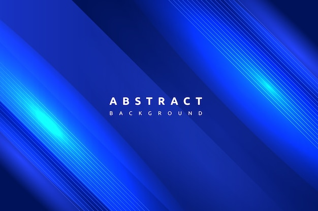 Streszczenie kolorowe gradint niebieski z prostym tle kształtu