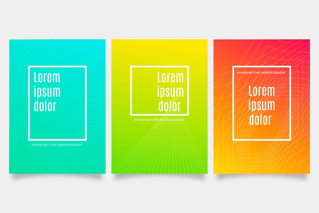 Streszczenie kolorowe okładki