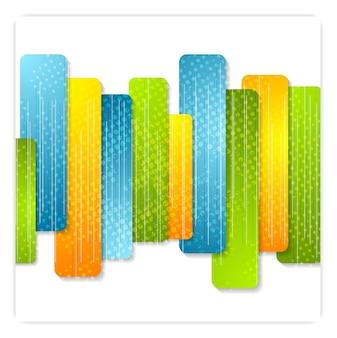 Streszczenie kolorowe paski nowoczesne tło. projekt korporacyjny wektor