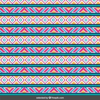 Streszczenie kolorowe paski wzór