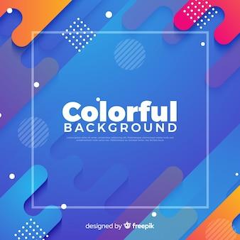 Streszczenie kolorowe tło