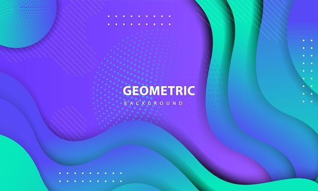 Streszczenie kolorowe tło. teksturowany element geometryczny z dekoracją kropek. szablon projektu strony docelowej, banera, plakatów, okładki itp.01